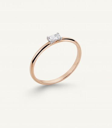 ZIP RING 0.12 ct