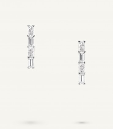 ZIP EARRINGS 1.04 ct