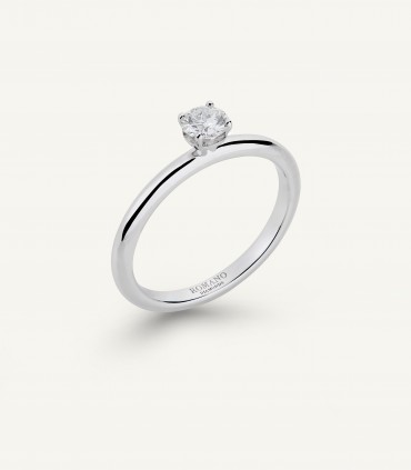 ANELLO SOLITARIO ROMANTIC CASTEL 0.20 ct