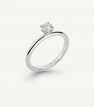 ANELLO ROMANTIC CASTEL 0.30 ct