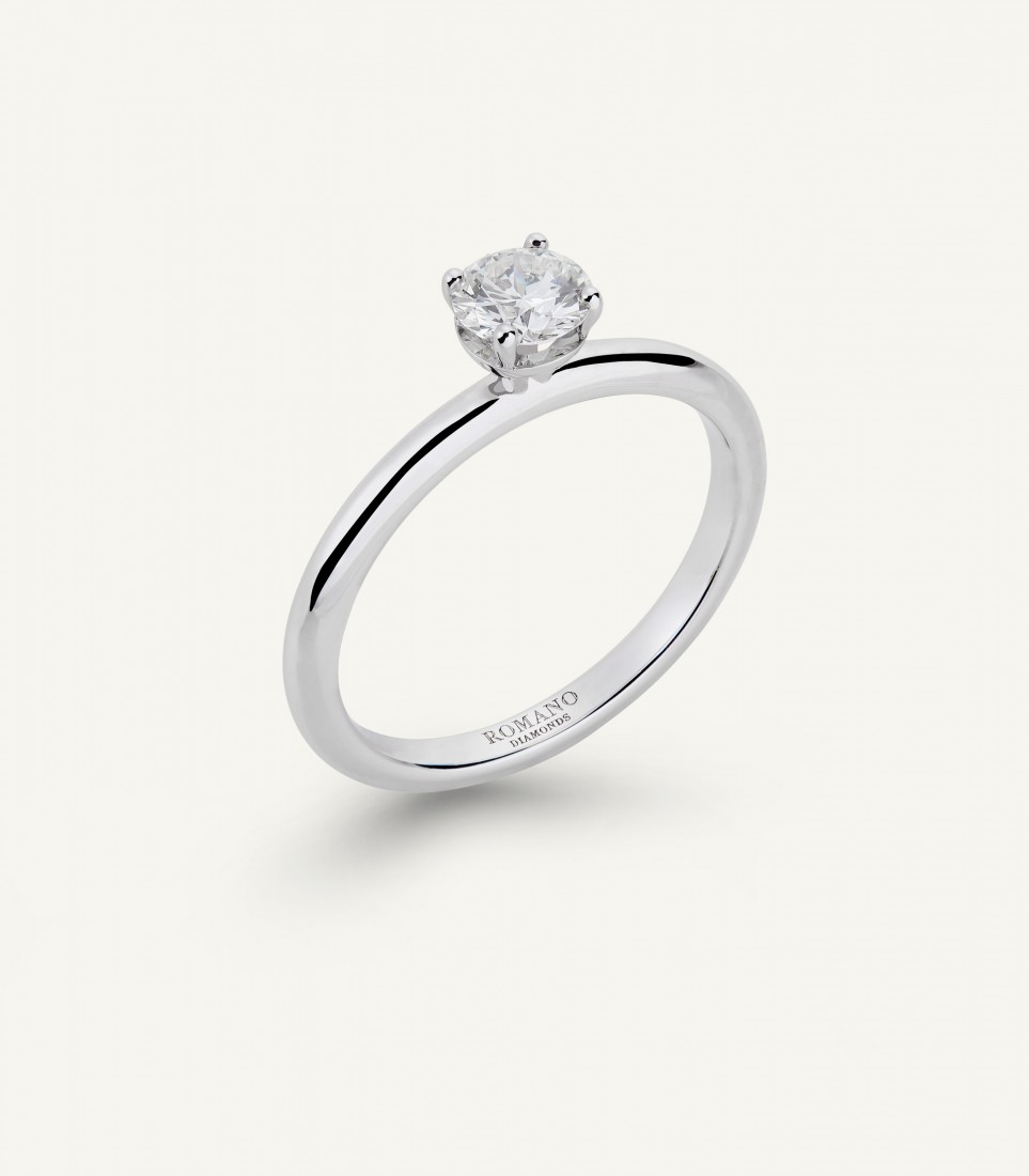 ANELLO ROMANTIC CASTEL 0.50 ct