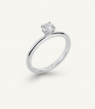 ANELLO SOLITARIO ROMANTIC CASTEL 0.50 ct
