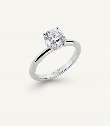 ANELLO SOLITARIO ROMANTIC CASTEL 1.30 ct
