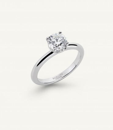 ANELLO ROMANTIC CASTEL 1.00 ct