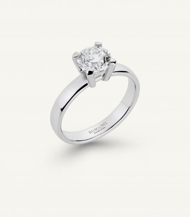 CASTEL SOLITAIRE RING 1.00 ct