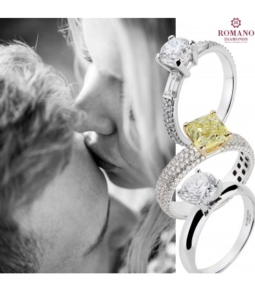 Engagement ring: a love bond